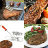 BBQ Brandijzer met Veranderlijke Brieven