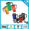 Tasse automatique promotionnelle à double paroi en acier inoxydable, tasses auto électriques