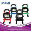 Projector impermeável da segurança recarregável compreendendo o carregador do adaptador e do carro