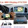 Ptv780 Dongle Miracast die Ios9 Airplay van WiFi Mirabox van de Auto de Androïde HDMI+AV (CVBS) weerspiegelt +Micro USB