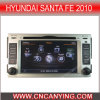 Автомобиль DVD для Hyundai Санта Фе 2010 с интернетом Dual Core 1080P V-20 Disc WiFi 3G набора микросхем A8 (CY-C008)