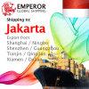 Overzeese Vracht die van China aan Djakarta, Indonesië verscheept