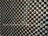 Garnitures auto-adhésives de feuille de Rhinestone de difficulté chaude de noir de gicleur pour la robe de soirée (noir de gicleur de TM-241-10mm)