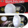 戸棚の安全なライト、白熱働くライト
