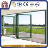 Fingerspitze-Steuerdoppelt-Glasaluminiumfalz-Türen