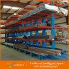 Estante voladizo de acero galvanizado resistente del almacenaje amontonable del almacén