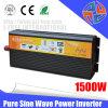Sistema de Energía 1500W de potencia de 24V de onda sinusoidal pura, 220V