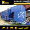 Separación 200 toneladas por hora de Placer maquinaria minera móvil Equipo de la extracción del oro