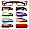Inyección de moda gafas de lectura plegable con casos