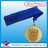 Fornitore della medaglia di campionato di sport della medaglia placcato oro lucido
