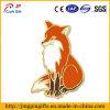 Pin animal vermelho ártico do Lapel do esmalte do Fox