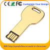 최신 판매 황금 색깔 소형 키 USB 섬광 드라이브 (ED094)