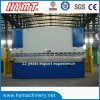 Гидровлические машина стальной плиты WC67Y-100X6000 складывая/гибочная машина стали углерода