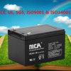 Rangement des batteries d'énergie renouvelable pour éclairage d'urgence 12ah