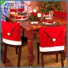 Coperchi rossi decorativi della presidenza di natale del Babbo Natale per la Tabella pranzante