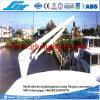 1.5T@4m Mini Yacht hydraulique grue télescopique