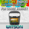 Witson S160 FIAT Dodge Journey Car DVD GPS Player com Rk3188 Quad Core HD 1024X600 Tela 16GB Flash 1080P WiFi 3G frente DVR DVB-T Mirror-Link (W2-M268)