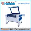 Máquina de estaca do laser do papel de parede do papel de cera do fabricante