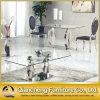 Tavolino da salotto europeo dell'acciaio inossidabile di vetro Tempered di stile