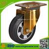 150mm industrielle elastische Gummirad-Fußrolle
