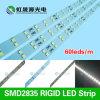 Lm-80 bonne lumière de bande rigide approuvée de la qualité SMD2835 60LEDs/M 12W DEL