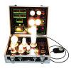 Visualizzazione di vendita calda della lampadina con il tester di caso della dimostrazione di lux LED