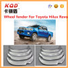 Het Stootkussen van het Wiel van de Uitrustingen van het chroom voor Gloed van het Stootkussen van het Wiel van Hilux Revo de Nieuwe voor de Gloed van het Stootkussen van het Chroom van Hilux Revo Toyota Hilux