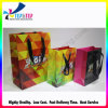 Bolsos de compras modificados para requisitos particulares de Gift&Craft del papel revestido de las bolsas de papel