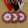 De douane Gegoten Medailles van de Karate van het Brons van het Metaal Gouden Zilveren