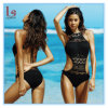2018 Amazon hot продажа женщин девочек купальный костюм секси кружевом вдоль линии бикини