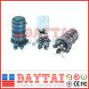 Tipo cúpula 4 - 48 núcleos de empalme de fibra óptica de cierre (DT-FOSC-D8012 el empalme cierre)