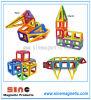 Het magnetische Speelgoed van de Bouwstenen van de Bladen van het Blok van de Bouw Magnetische
