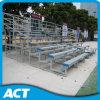 Silla de metal del blanqueador de aluminio plástico / asientos de acero Ensamble Gradas en Venta interior asientos de la audiencia Gimnasio Bleacher
