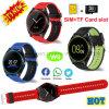Камера Bluetooth/телефон вахты запястья руки франтовской с гнездом для платы W9 SIM