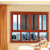 Hotel Doors (FT-D80)를 위한 OEM Two Tracks Broken Bridge Sliding Door Extrusion Profiles