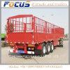 3 as 40 Ton van het Vee die de Semi Aanhangwagen van de Staak van de Omheining met Ladders Vervoer