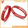 Fördernder Form-Drucken-SilikonWristband (YB-LY-WR-50)