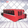 cortadora plateada de metal de la industria de la fibra 1500W para la venta