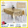 Vinil / PVC dourado e emfeitar toalha de mesa em rolo