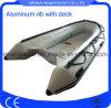Barca di alluminio del guscio di V con il PVC di Inflatabe o il tubo di Hypalon