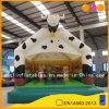 Aufgeblähter Spielzeug-Kuh-Modell-aufblasbarer springender Prahler hergestellt in China (AQ02201-1)