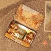 На заводе оптовой деревянный дом кукла миниатюрный деревянный дом