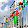 Гарантированный флаг подгонянный качеством дистанционного управления нержавеющей стали Поляк