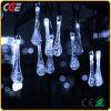 Luces de hadas del carámbano del goteo LED para la decoración al aire libre
