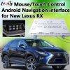 4-Core surface adjacente de navigation de l'androïde 6.0 Deux-dans-Un l'élément pour Lexus 2014-2017 Rx