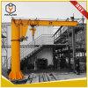 La Chine de première qualité 3 tonne Jib grue montée sur le sol avec Srtong pilier et un palan