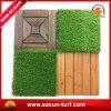 DIY Installation Interlcoking synthetische Garten-Rasen-Gras-Fliese