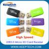 공장 직접 고속 USB2.0 마이크로 SD 카드 판독기 TF 카드 판독기