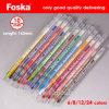 Foska 165mm 8 jeu de rotation de crayon de couleur