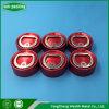 Ouverture facile bague en aluminium rouge 32 mm Retirer le capuchon